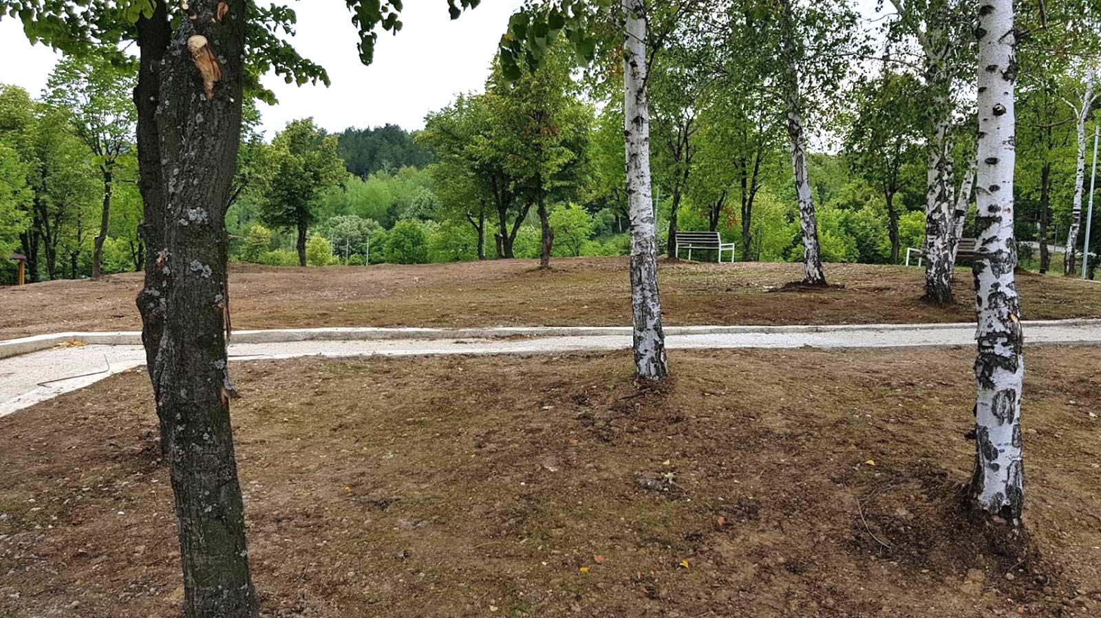Парк Перник - изграждане и поддръжка