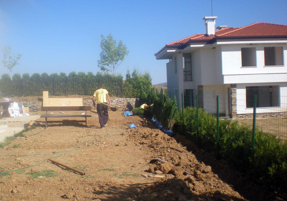 Делта хил 1. Частен обект - изграждане и поддръжка.